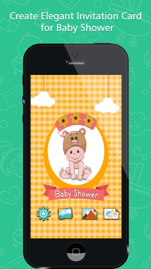 Baby shower invitation maker on the app store iphone ipad stopboris Gallery