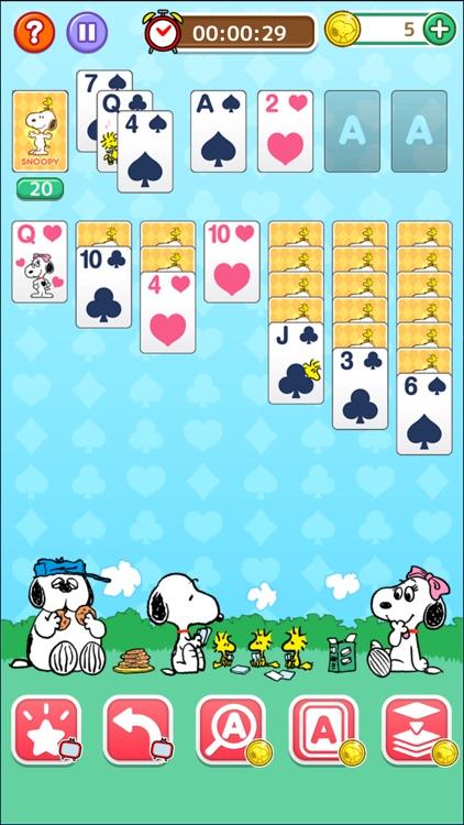 スヌーピーソリティア screenshot-3
