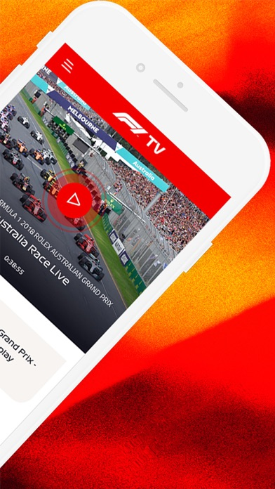 Screenshot for F1 TV in Germany App Store