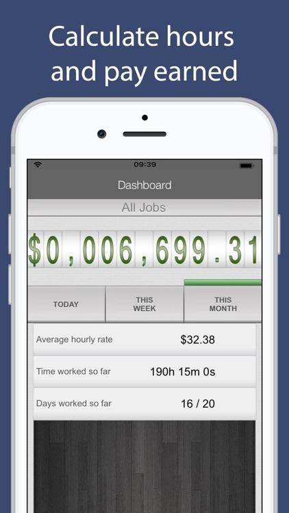 SalaryBook - Time Sheet screenshot-3