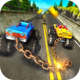 Chained Monster Truck Racing