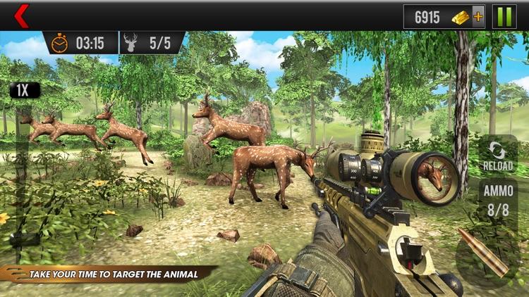 Deer Hunting Wild Animal Shoot screenshot-4