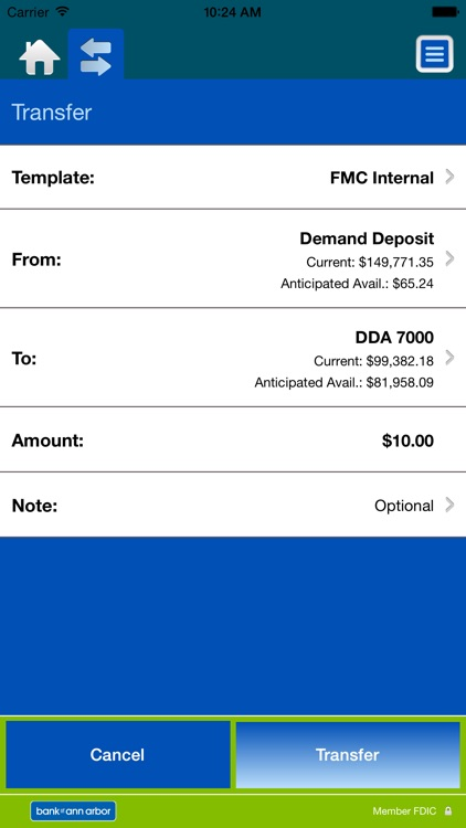 BOAA Business Mobile Banking screenshot-4