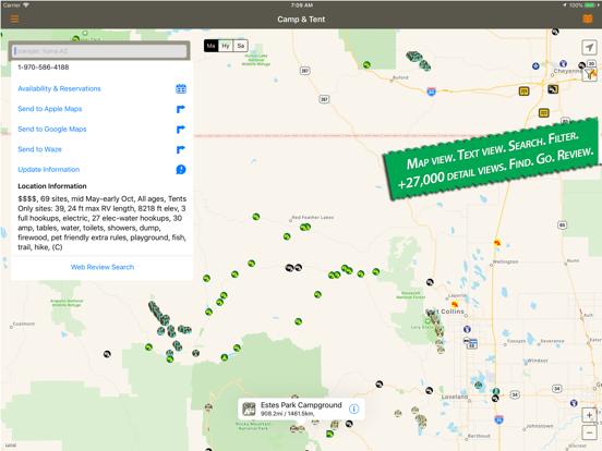 Camp and Tent screenshot