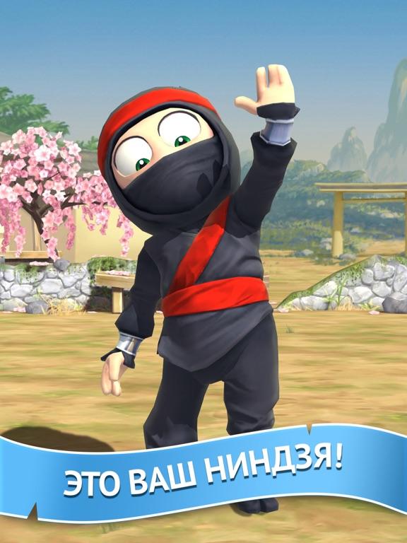 Clumsy Ninja на iPad