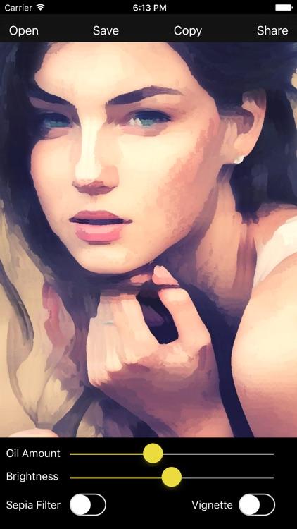 Oil Paint - Photo to Art Maker screenshot-4