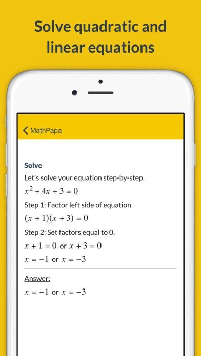 MathPapa - Algebra Calculator for Windows