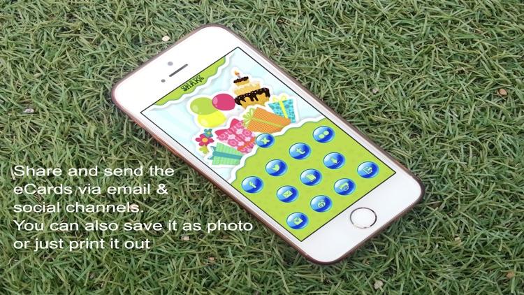 Happy Birthday Card Maker App screenshot-4
