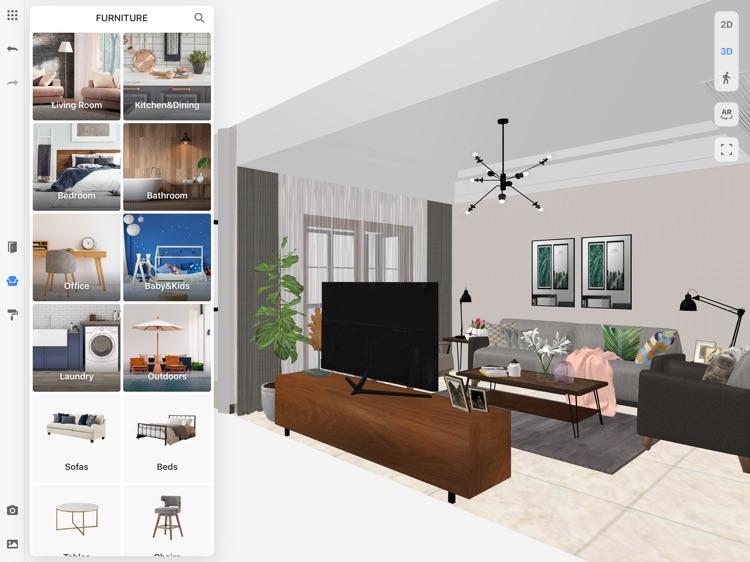 Coohom 3d interior design by exacloud inc - 3d interior design apps ...