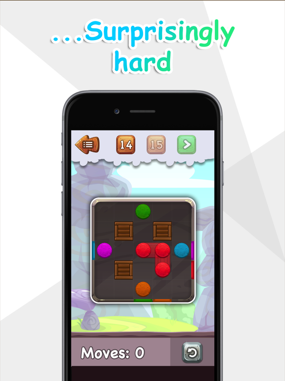 Balls to the Wall - a sliding puzzle screenshot 6