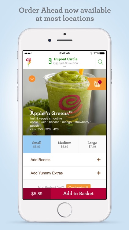 Jamba Juice screenshot-3