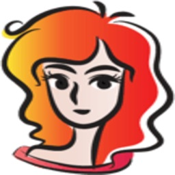 Curls Red Hair Girl