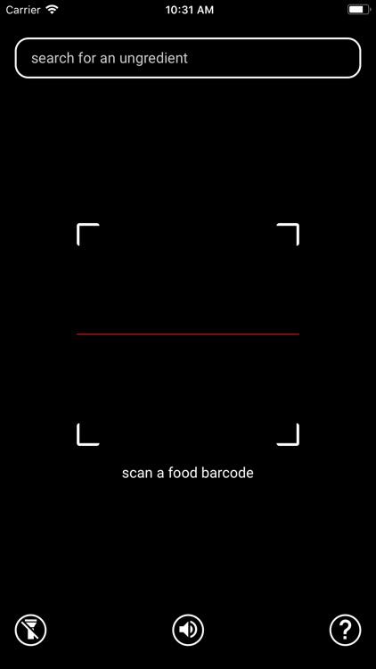 Ungredients - Food Scanner