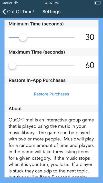 OutOfTime! screenshot-5
