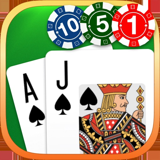 Download BlackJack 21: Gambling Games free for iPhone, iPod and iPad