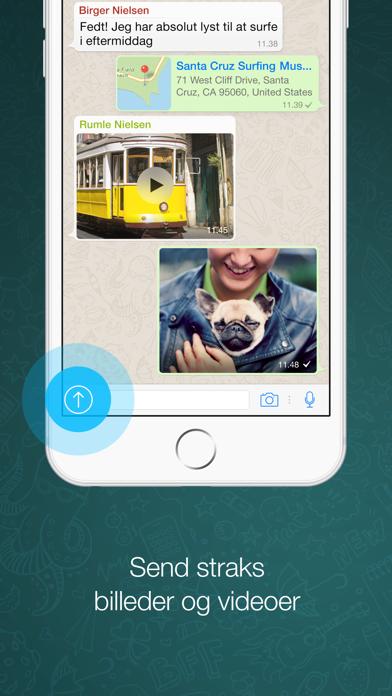 Screenshot for WhatsApp Messenger in Denmark App Store