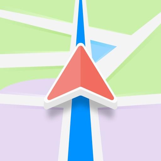 Karta GPS - Offline Navigation app logo