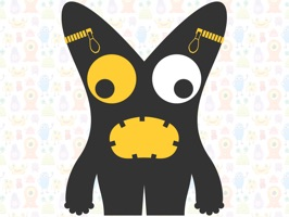 Cute Monster Animated Stickers