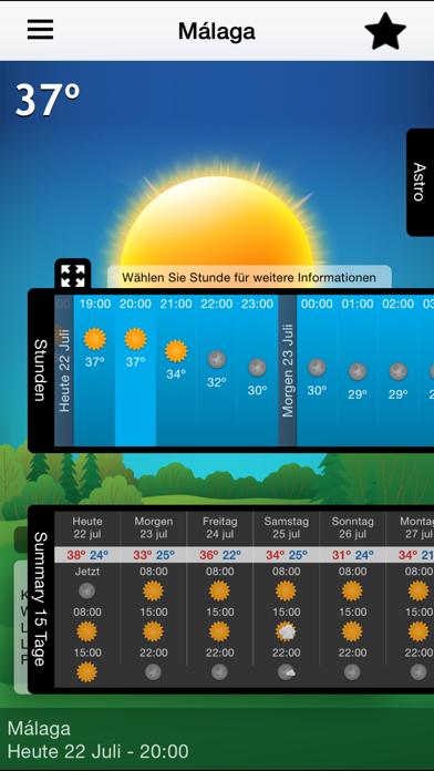 15 Tage Wettervorhersage Kostenlos