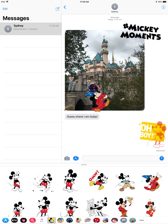 Disney Stickers: Mickey's 90th screenshot 6