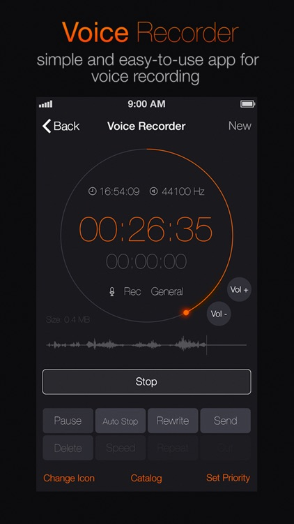 Voice Recorder+ Audio record