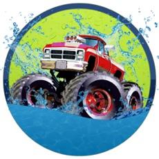 Activities of Beach Car Water Driving