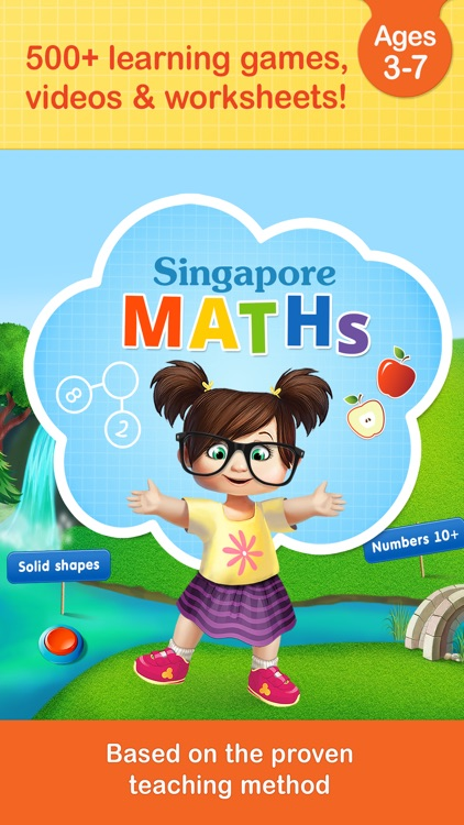 Singapore math games for kids by Kids Academy Co apps: Preschool ...