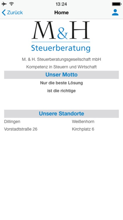 M+H Steuerberatung screenshot-1