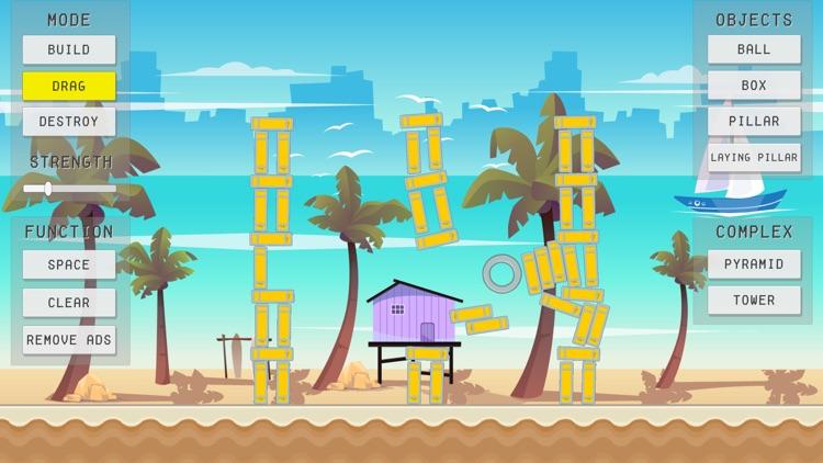 Physics Sandbox Beach