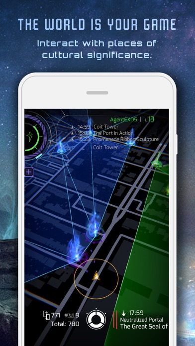 Ingress Prime Screenshots