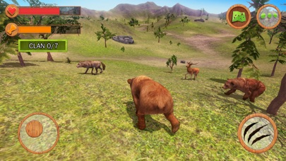 Wild Animals Clan Simulator 3D screenshot three