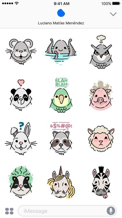 Little Animals Stickers