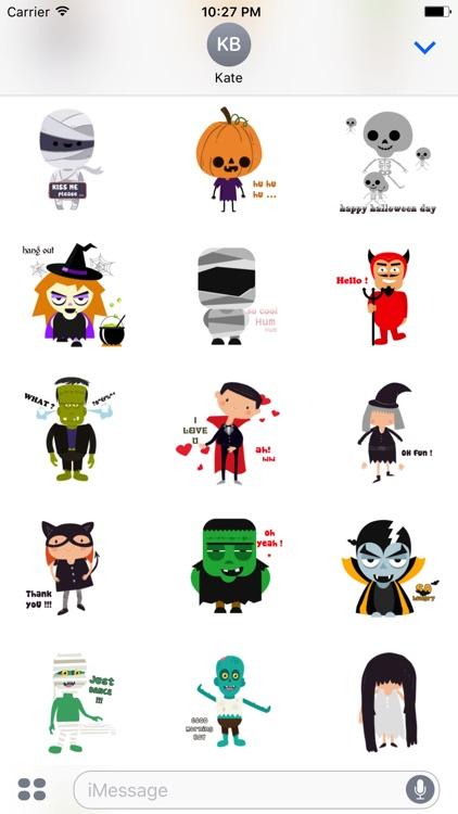 Halloween Character animated 1