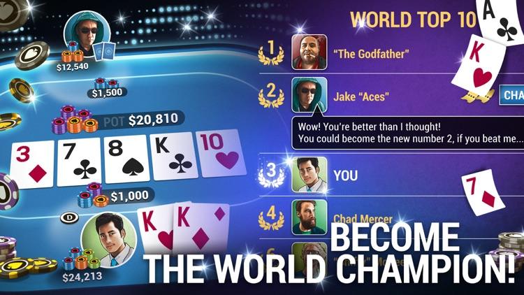 Poker World - Offline Poker screenshot-4