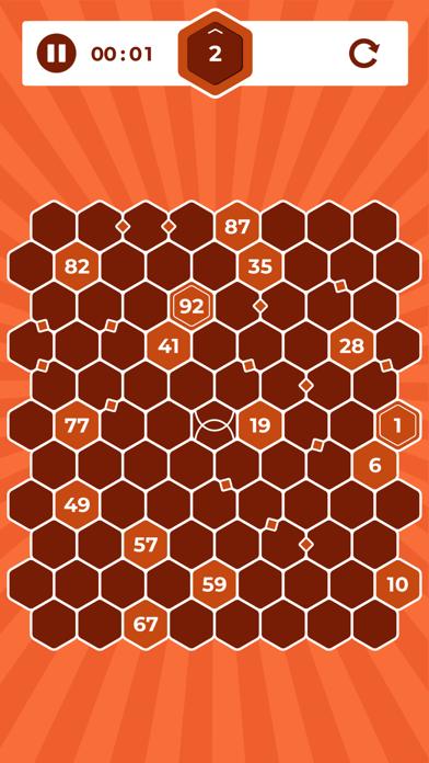 Number Mazes: Rikudo Puzzlesのおすすめ画像6