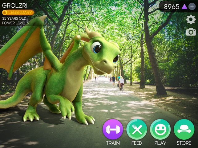AR Dragon Screenshot