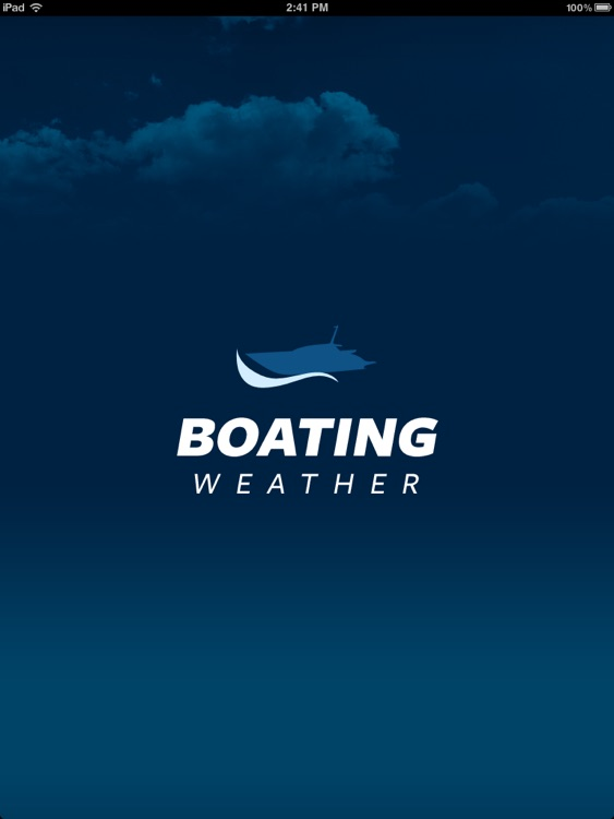 Boating Weather for iPad screenshot-0