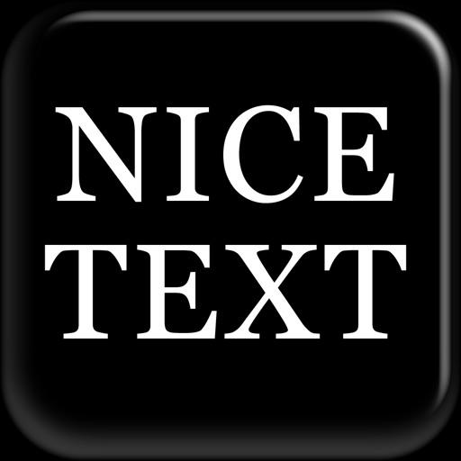 NiceText