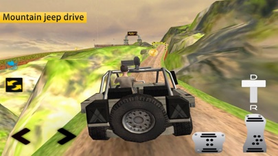 Journey Forest: Driving Jeep screenshot two