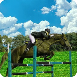 Jumping Horse Riding: 3d