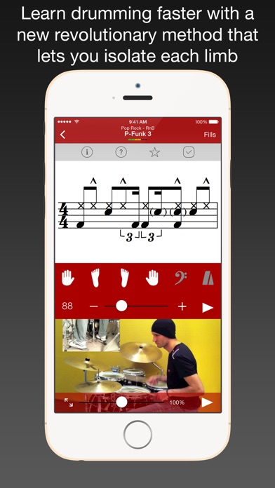 Drum School review screenshots