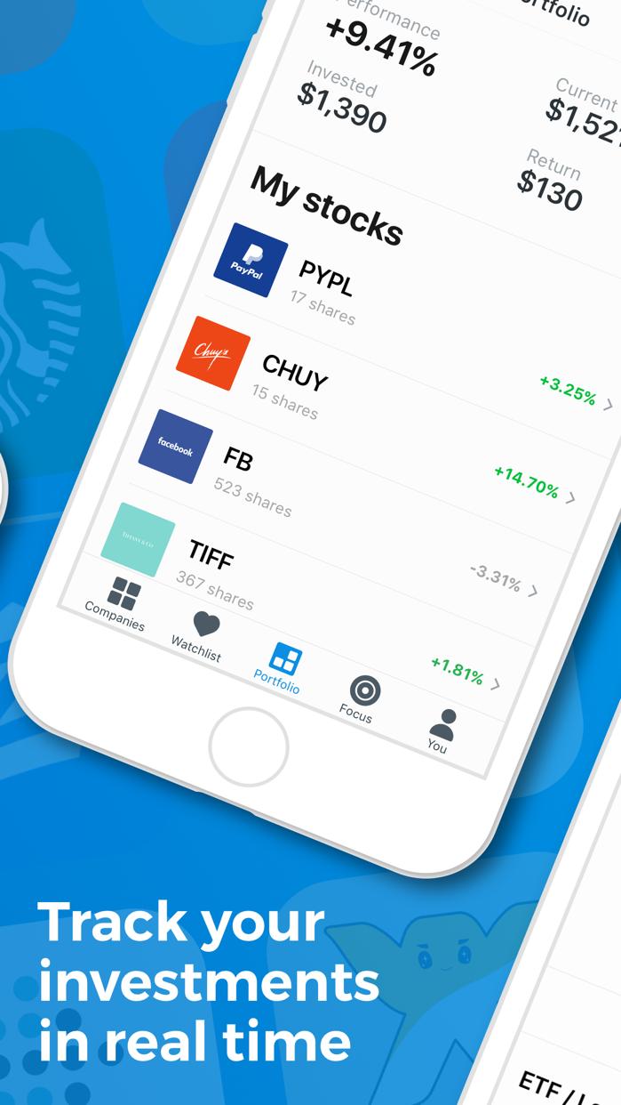 Invest: Learn & Buy Stocks Screenshot