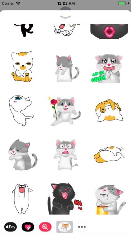 Little Kitten Animated Emoji