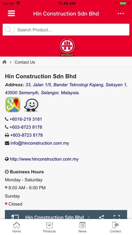 HIN Construction Sdn Bhd screenshot-4