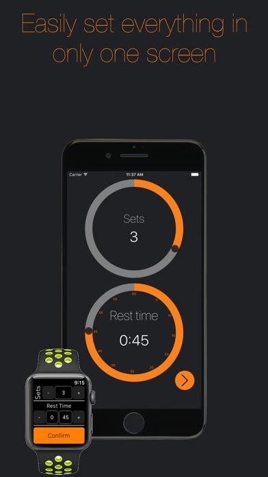 Gym Timer-Timer for rest time screenshot one
