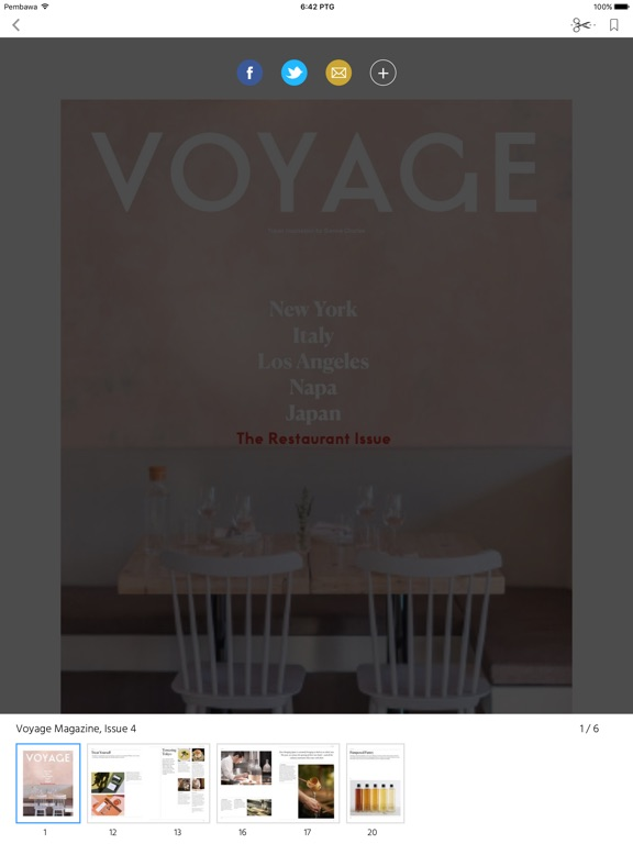 Voyage (Magazine) screenshot 7