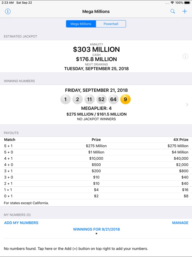 Mega Millions Powerball On The App Store