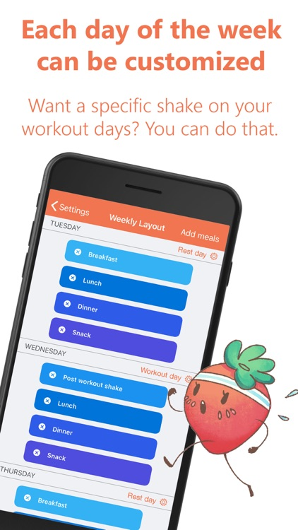 Eat This Much - Meal Planner screenshot-4