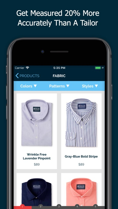 Mtailor custom clothing app download android apk for Custom dress shirts app