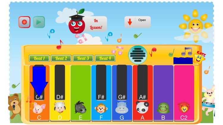 Kids Toy Piano And Teacher screenshot-4